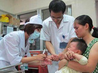 trẻ em ngọ độc hóa chất
